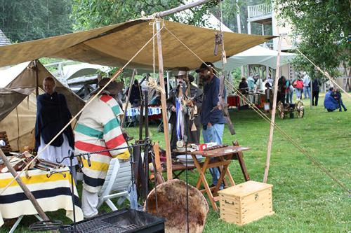 Black Powder rendezvous every Father's Day... just one of 20 events!