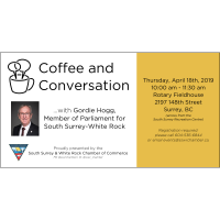 Coffee & Conversation with MP Gordie Hogg