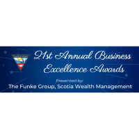 21st Annual Business Excellence Awards Gala presented by The Funke Group - Scotia Wealth Management