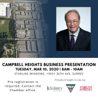Postponed - Campbell Heights Business Opportunities & Growth