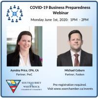 COVID-19 Business Preparedness Webinar with PwC & Fasken