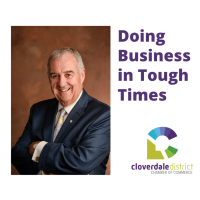 Cloverdale Chamber: Covid Conversation Virtual Luncheon - Doing Business in Tough Times