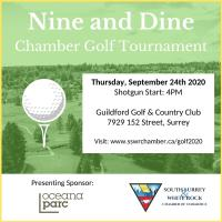 2020 Nine and Dine Chamber Golf Tournament