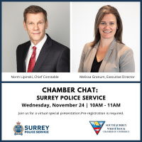 Chamber Chat with Surrey Police Service