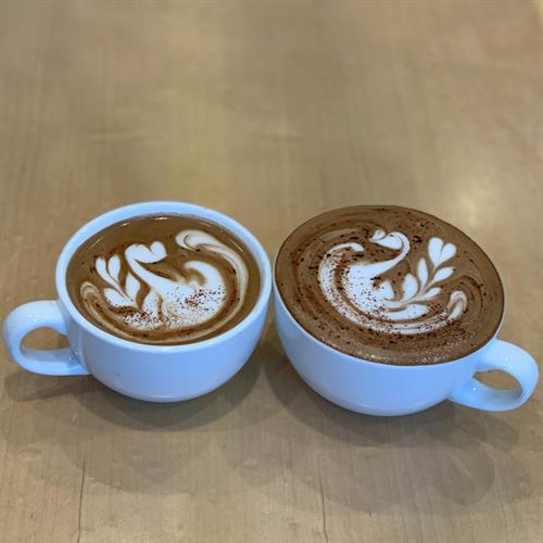 Lattes & cappuccinos