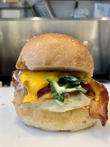 Rise & Shine Breakfast Sandwich with Bacon