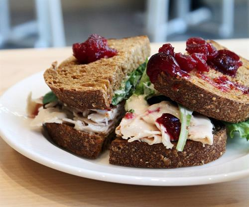 Gobble Up Turkey Sandwich