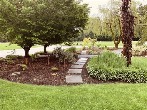 Willow Scattering Garden