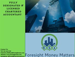 Foresight Money Matters Tax And Bookkeeping