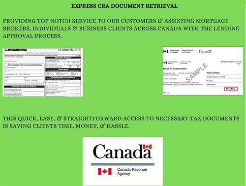 CRA Express Document Retervial
