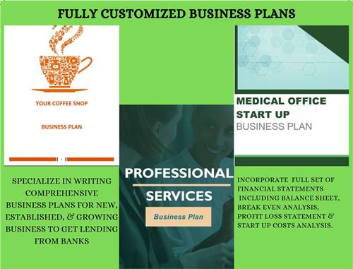 Customized Business Plans
