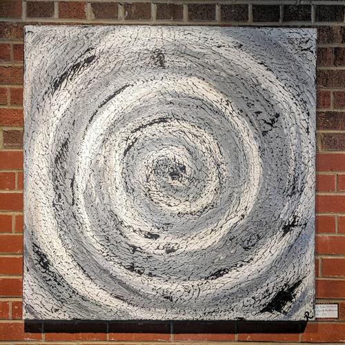 Artist, Robin Balderson. Titled, Eye Of The Hurricane