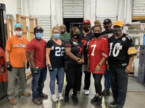 NFL Kickoff-Favorite NFL Team Jersey Day