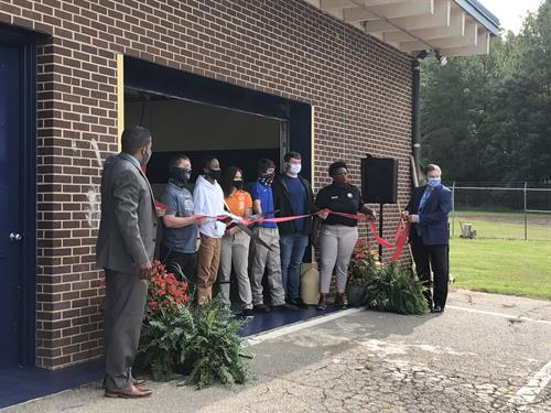 RHS Machining Lab Ribbon Cutting