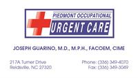 Piedmont Occupational and Urgent Care