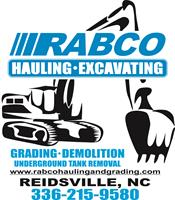 RABCO Hauling and Grading