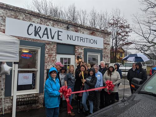 We celebrated CRAVE Nutrition with a Ribbon Cutting!