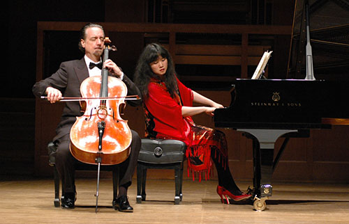 David Finkel and Wu Han, Performing Arts Series