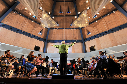 Middlebury College Orchestra, Robison Hall