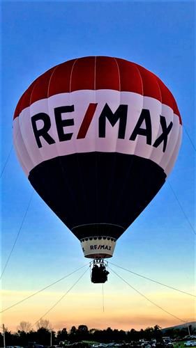 RE/MAX Balloon at Addison County Field Days