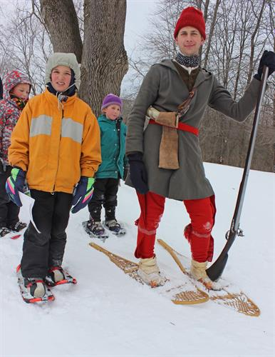 """Battle on Snowshoes"" Re-enactment"