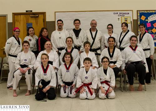 recent black belt testing