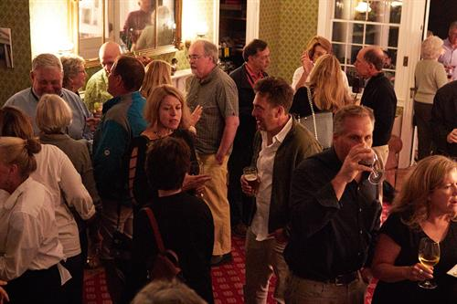 Every year Opening Night is followed by a packed party at the gorgeous Swift House Inn
