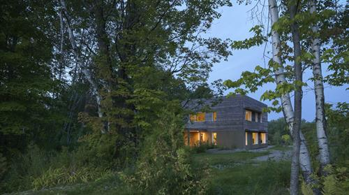 Champagne Rock Passive House