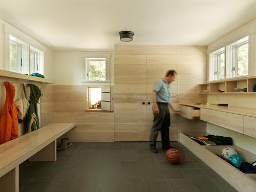 Well designed VT mudroom
