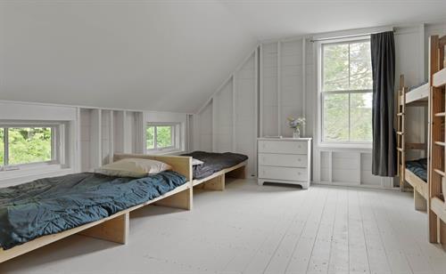 EVKids Camp bunk room