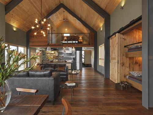 Unique details make the Vermont Modern Barn a home with heart