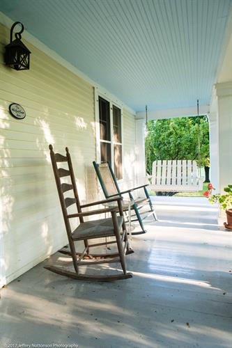 Whitford House Rocking Chairs Front Porch