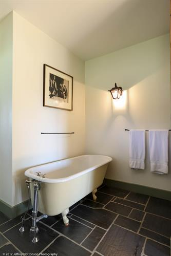 Whitford House Claw foot Tub Guest House