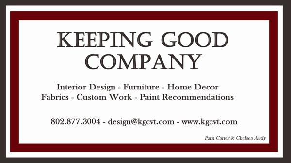 Keeping Good Company Interior Design