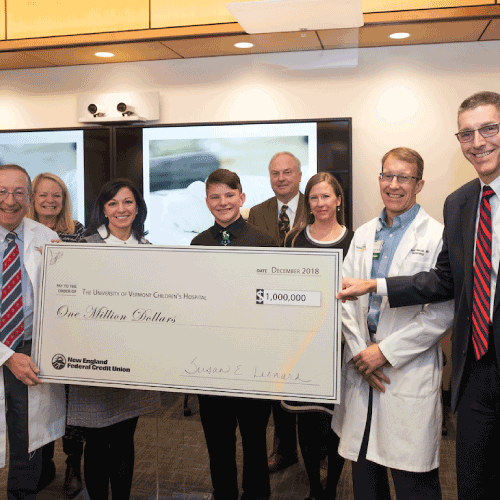 UVM Medical Center Children's Hospital Donation