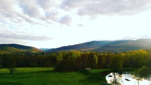 Enjoy the view during foliage season