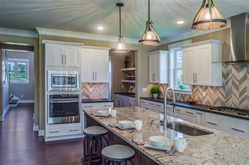 SouthGate Hills Model Home Kitchen