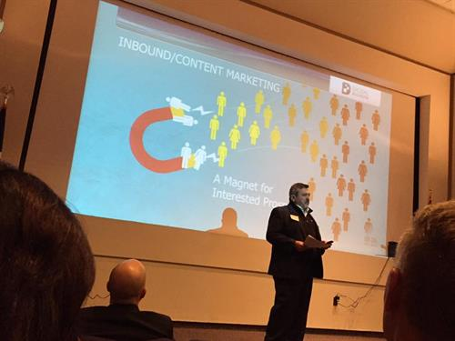 Asked to speak at Digital Rochester