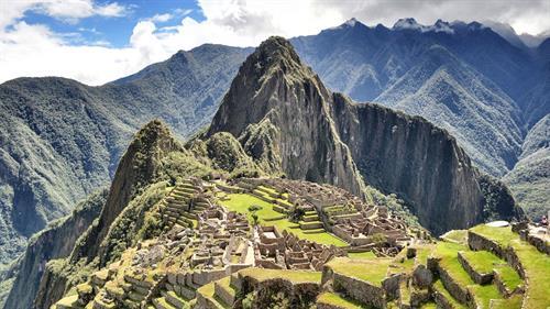 Machu Picchu, Peru a 15th-century Inca citadel