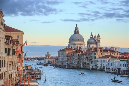 Venice in northeastern Italy, capital of the Veneto region