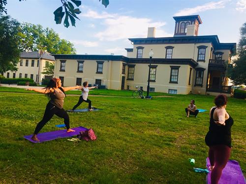 Free  Saturday Community Yoga at 9am