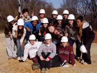 Habitat volunteers - College students on spring break