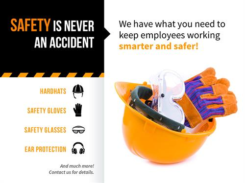 Bassett Office Supply has everything you need to keep your employees safe!