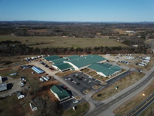 Aerial of ODAC