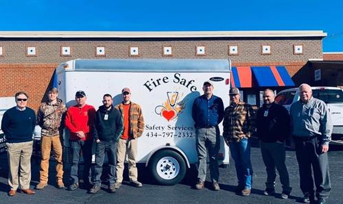 The Fire Safe Team