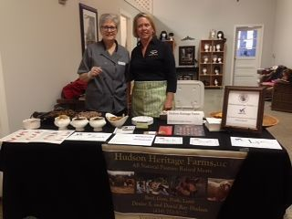 Local producers event with Denise Hudson of Hudson Heritage Farms