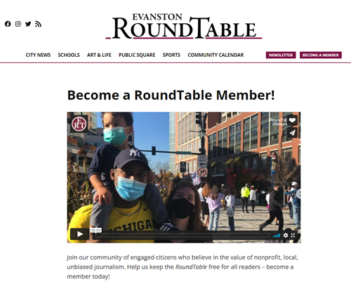 Support local journalism: Become a member!
