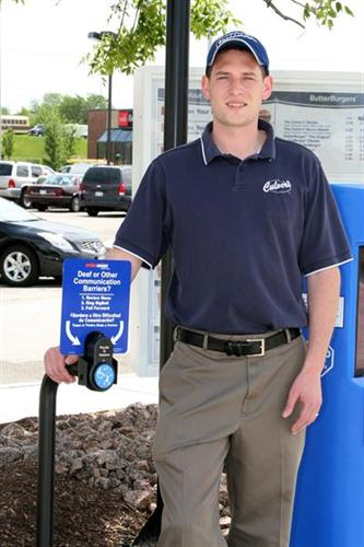 OrderAssist is a solution for drive thru restaurants to better welcome people who are deaf and hard of hearing