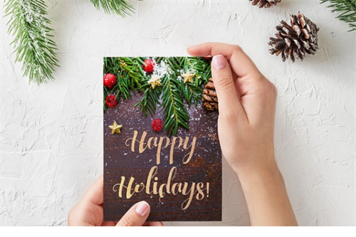 Need a card printed. From notecards to holiday cards...make it an impression and use to write a handwritten note.