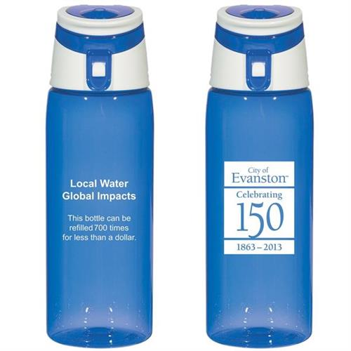 Water Bottles for City of Evanston events